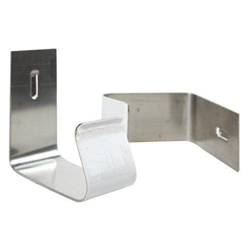 Quartet Nickel Plated Cubicle Partition Hangers (QRT-7501) Image 1