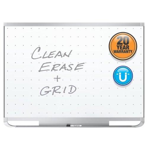 Quartet Prestige 2 3' x 2' Magnetic Steel White Board Graphite Frame (QRT-TEM543G) Image 1