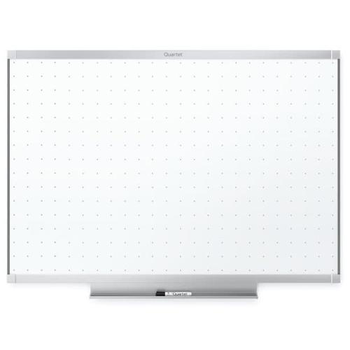 Quartet Prestige 2 4' x 3' Total Erase White Board Silver Frame (QRT-TE544AP2) Image 1
