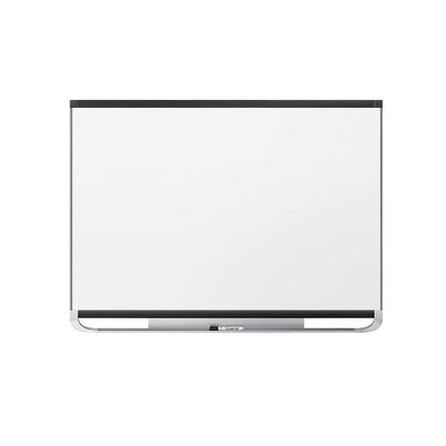 Quartet Prestige 2 6' x 4' Magnetic Steel White Board Black Frame (QRT-TEM547B) Image 1