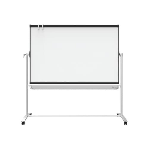 Prestige Reversible Whiteboard Mobile Presentation Easel Image 1
