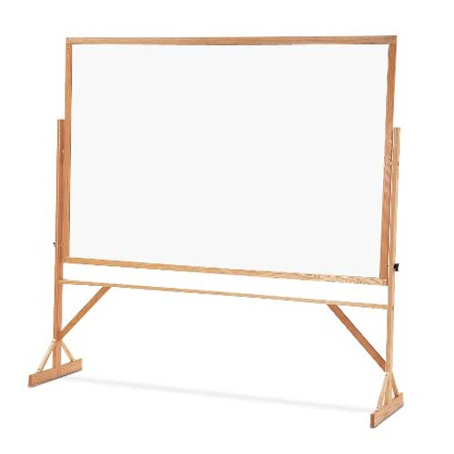 Quartet Reversible 2 Sided Porcelain Whiteboard (QRT-WPR406402) - $539.38 Image 1