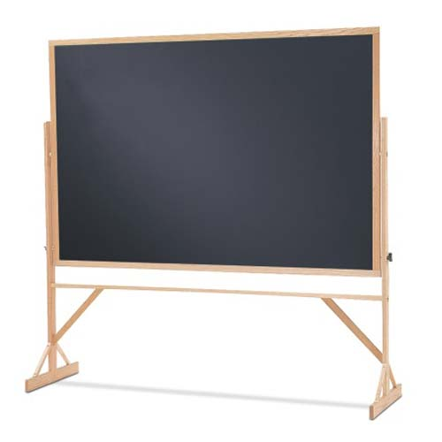 Quartet Reversible 2 Sided Standard Black Chalkboard (QRT-WTR406810) Image 1