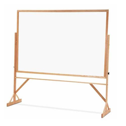 Quartet Reversible Porcelain Whiteboard Cork Bulletin Board (QRT-WPCR406402) Image 1