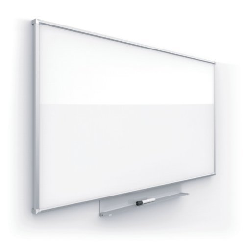 Quartet Silhouette Nano-Clean Magnetic Whiteboard with Silver Aluminum Frame (QRT-SILNANOSIL)