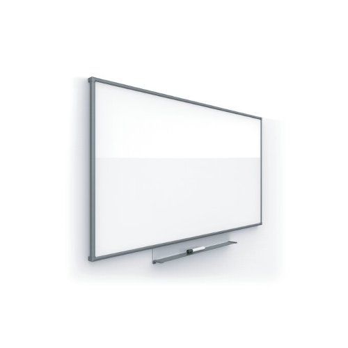 "Quartet Silhouette Porcelain 85"" x 48"" Magnetic Whiteboard With Charcoal Aluminum Frame (QRT-CP8548C) Image 1"