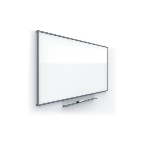 "Quartet Silhouette Total Erase 85"" x 48"" Whiteboard With Charcoal Aluminum Frame (QRT-C8548C), Quartet Image 1"