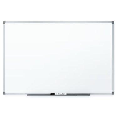Quartet Standard DuraMax Porcelain 6' x 4' Whiteboard with Silver Frame (QRT-85517) Image 1