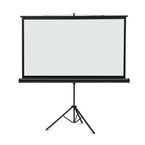 Quartet Wide Format Projection Screen - Tripod Base (QRT-WFPSTB) Image 1