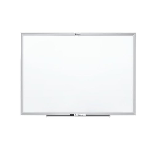 Quartet 5' x 3' Standard Magnetic Whiteboard with Silver Frame (QRT-SM535) Image 1