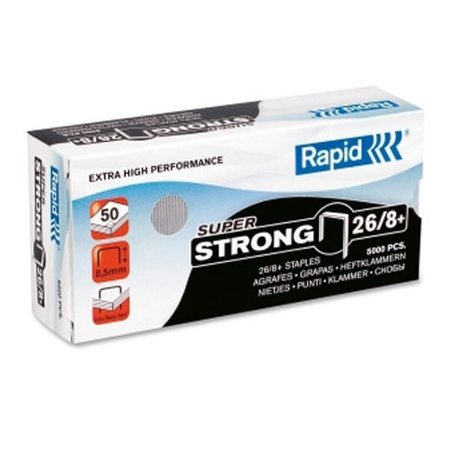 Rapid High Capacity Staples - 5000 / Box (RPD90003)