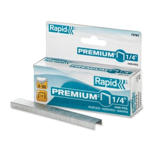 Rapid Standard Staples - 5000 / Box (RPD73782) - $1.74 Image 1