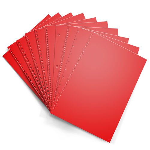 Re-Entry Red Astrobrights 24lb Punched Binding Paper - 500 Sheets (PPP24ABRER)