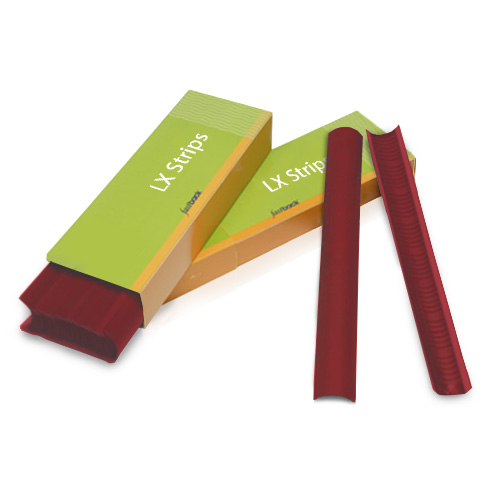 "Powis Parker Red 11"" Narrow Fastback LX Strips (N130LX) - $42.29 Image 1"