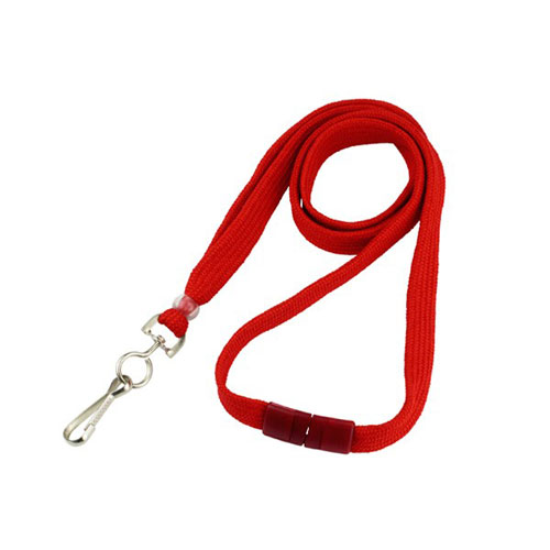Red Breakaway Lanyards Image 1