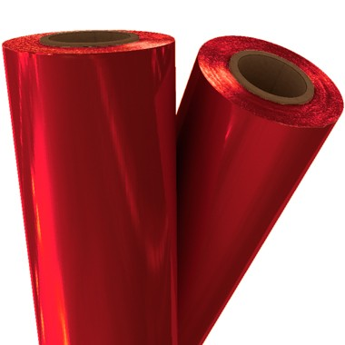 "Red Pigment 12"" x 100' Laminating / Toner Fusing Foil (PG-RED-16-12) Image 1"