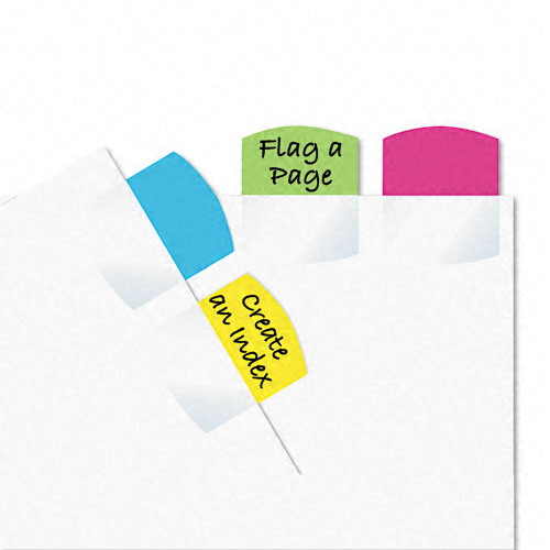 Redi-Tag 1-1/16x1-1/4 Assorted Self -Stick Write-On Index Tabs (RTG-33148) - $2.59 Image 1