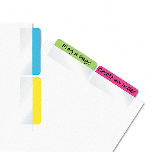 Redi-Tag 2x11/16 Assorted Self -Stick Write-On Index Tabs (RTG-33248) - $2.59 Image 1