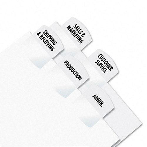 Redi-Tag White Laser Printable Index Tabs - 1pk (375 Tabs/Pack) (RTG-39017), Redi-Tag Image 1