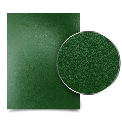 "Green 8.5"" x 11"" 15pt Vinyl Binding Covers - 100pk (MYVBC85X11DGN), Covers Image 1"