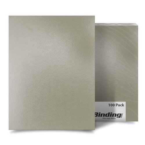 """Tan 8.5"""" x 14"""" Regency Leatherette Covers - 100pk (FM8005D) Image 1"""