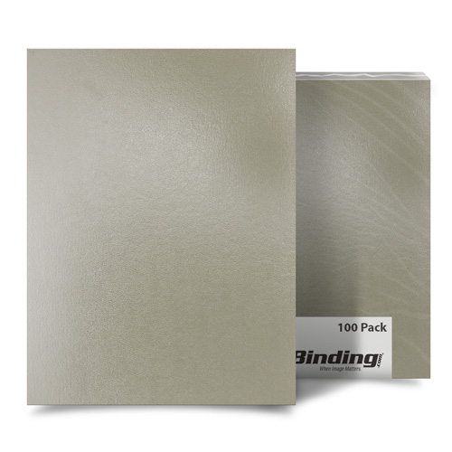 "Tan 9"" x 11"" Regency Leatherette Covers - 100pk (FM8005B), MyBinding brand Image 1"