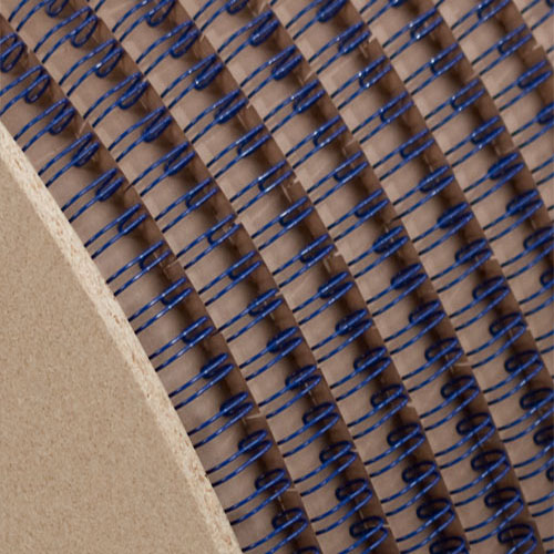 "Wire-O 1-1/4"" Blue 2:1 Pitch Double Loop Ring Wire Spool (2100 Loops) (RZ114BLSP), MyBinding brand Image 1"