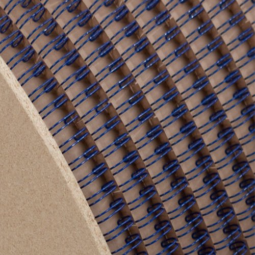 "Wire-O 1-1/8"" Blue 2:1 Pitch Double Loop Ring Wire Spool (3100 Loops) (RZ118BLSP), MyBinding brand Image 1"