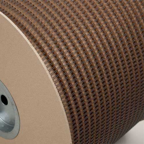 "Wire-O 1-1/8"" Gray 2:1 Pitch Double Loop Ring Wire Spool (3100 Loops) (RZ118GYSP), MyBinding brand Image 1"