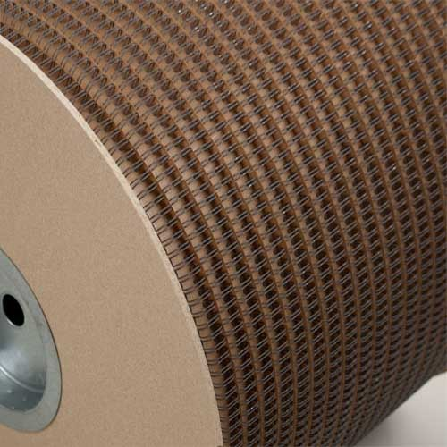 "Wire-O 3/4"" Gray 2:1 Pitch Double Loop Ring Wire Spool (8000 Loops) (RZ340GYSP), MyBinding brand Image 1"