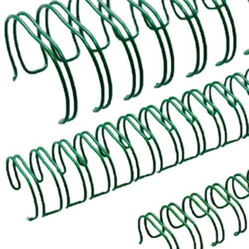 Renz Premium Green 2:1 Twin Loop Ring Wire (RZWGR21) Image 1
