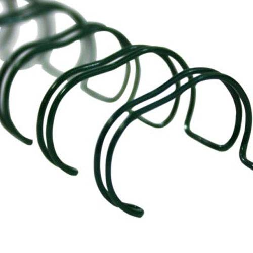Renz Premium Green 3:1 Twin Loop Ring Wire (RZWGR31) Image 1