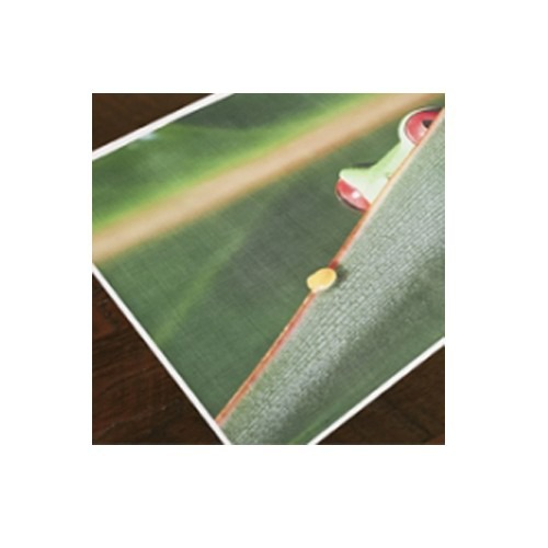 Drytac ReTac Textures Canvas 6.0mil Matte White Printable Polymeric PVC (RTC6.0MWPPPVC), Drytac brand Image 1