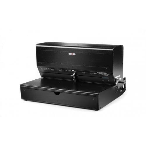 "Rhin-O-Tuff Onyx HD7500H 24"" Open-Ended Horizontal Electric Punch (HD7500H-ONYX) Image 1"