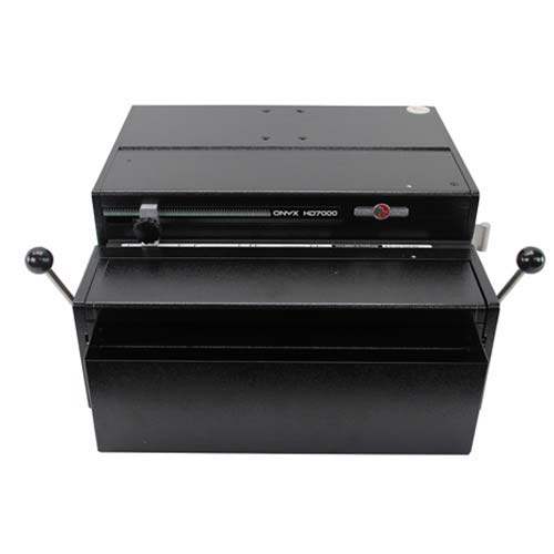 Rhin-O-Tuff Ultra Duty Electric 3 Hole Punch System (70003H) Image 1