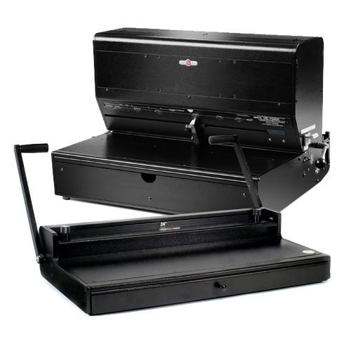 Rhin-O-Tuff Wide Format Electric 2:1 Wire Binding System (7500HW2) Image 1