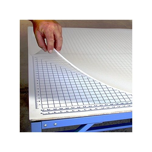 SpeedPress 5' x 12' Rhino Self-Healing Large Cutting Mat With Grid Underlay (SP-CM155G) Image 1