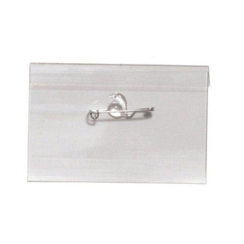 Convention Name Tag Holders with Crimp Pin Image 1