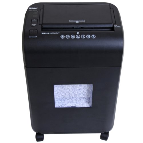 Royal ASF910 100-Sheet Auto-Feed Micro-Cut Paper Shredder (04ROYASF910) Image 1