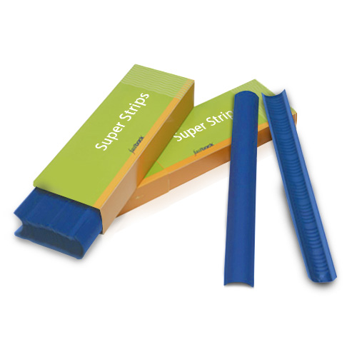 "Powis Parker Royal Blue 11"" Narrow Fastback Super Strips - 100pk (N116) Image 1"