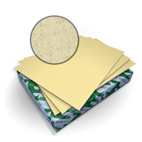"Neenah Paper Royal Fiber Cream 8.5"" x 14"" 80lb Smooth Cover - 50pk (MYRFC8.5X14CM) Image 1"