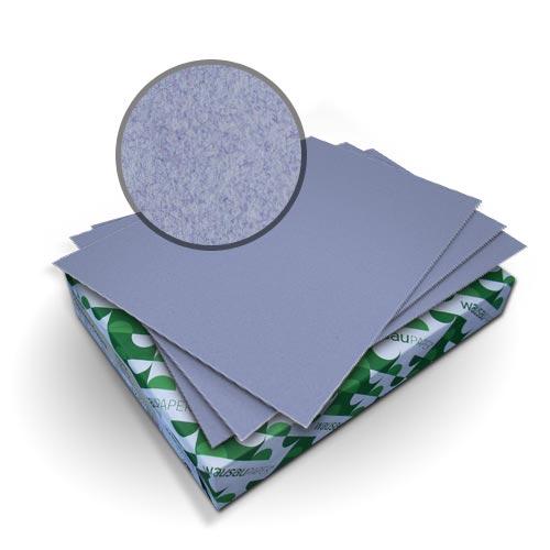 "Neenah Paper Royal Fiber Periwinkle 9"" x 11"" 80lb Smooth Cover - 50pk (MYRFC9X11PW) - $25.09 Image 1"