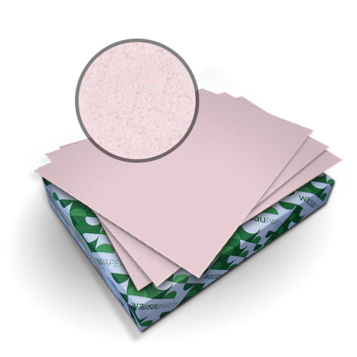 "Neenah Paper Royal Fiber Rose 11"" x 17"" 80lb Smooth Cover - 50pk (MYRFC11X17RO) Image 1"