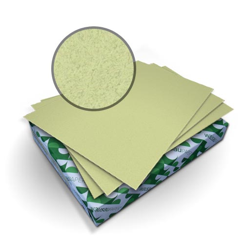 "Neenah Paper Royal Fiber Thyme 9"" x 11"" 80lb Smooth Cover With Windows - 50 Sets (MYRFC9X11TW) Image 1"