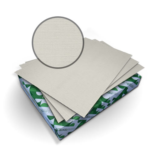 "Neenah Paper Royal Linen Gray 9"" x 11"" 80lb Covers - 50pk (MYRLC9X11GY) Image 1"