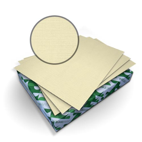 Neenah Paper Royal Linen Ivory A4 Size Covers - 50pk (MYRLCA4IV) Image 1