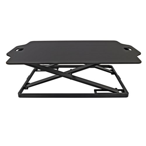 Royal SD22 Sit and Stand Adjustable Desk with Soft Foam Mat (04ROYSD22) Image 1