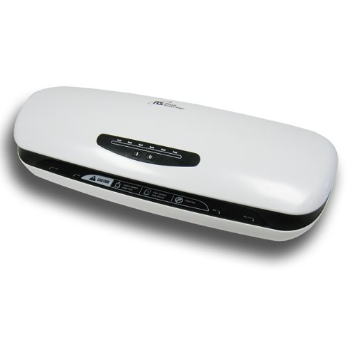 "Royal Sovereign 13"" Hot and Cold 2-Roller Pouch Laminator (ES-1315) Image 1"