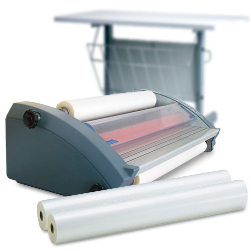 Royal Sovereign RSL Commercial Grade School Laminator Starter Kit with 4 Rolls of Film and Optional Work Station (RSL-2701-K) Image 1