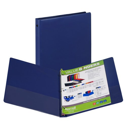 Dark Blue Samsill Ring Binders Image 1